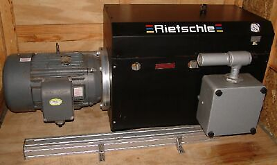 Rietschle SMV500 Covac side channel vacuum pump 25hp