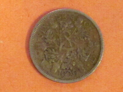 *** 1929  6 pence (Great Britain)  50% Silver coin.  KM# 832