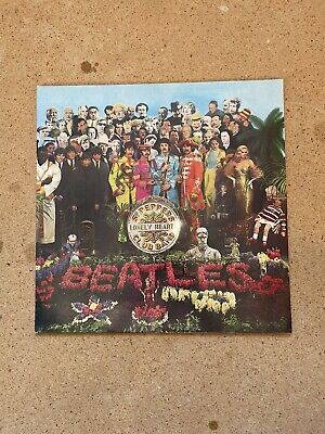 The Beatles - Sgt Peppers Lonely Hearts Club Band LP
