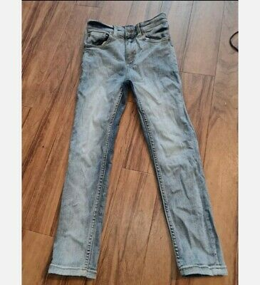 Boys river island skinny leg jeans aged 7-8 very good condition