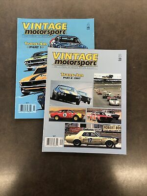 Vintage Motorsports Magazine Trans Am Part 1 and 2