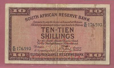 South Africa 10 Shillings 1940