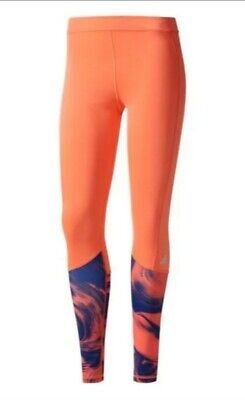 Adidas Climalite Coral Print Tights Large