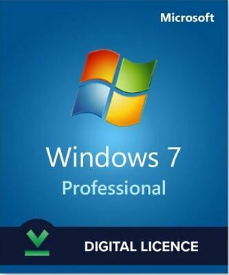 Windows7 ® Professional ✅Genuine Key®✔️Life Time 🔑 ✅24/7 Support