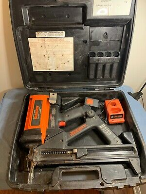 RAMSET TF1100 Gas Actuated Automatic Fastening TrakFast Tool Kit. Preowned