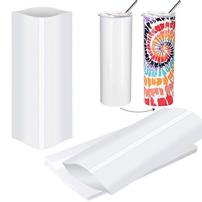 5x10 Inch Sublimation Shrink Wrap Sleeves, White Sublimation Shrink Wrap for and