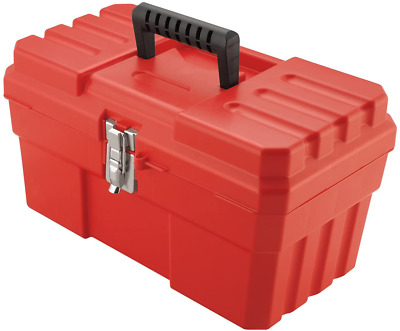 Akro-Mils 09514 ProBox 14-Inch Plastic Toolbox for Tools, Hobby or Craft Storage