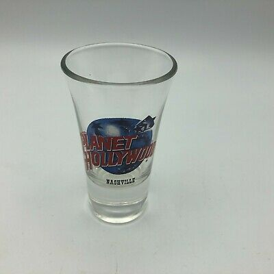 """Planet Hollywood Nashville Shot Glass 3-1/2"""" Tall   Y3"""