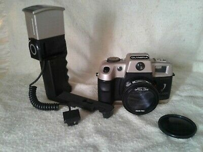 Olympia DL2000 35 mm Camera Motor Drive Red Eye Reduction