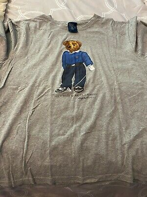 Ralph Lauren  Bear Golf T-Shirt Xl