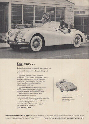 To families that onw a Jaguar XK-140 it is always the car ad 1956 R&T