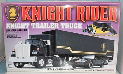"""Knight Industries Trailer set of 2 stickers only 1/"""" x 5/"""" size Knight Rider"""