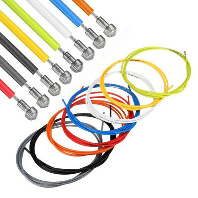 100pcs Bicycle Inner Cable Clear Rubber Donuts White O-Rings Bike Repair Lot