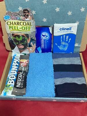 Personalised Christmas Mens Hot Chocolate and Latte hamper Dad Brother Husband