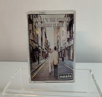 Oasis (Whats The Story) Morning Glory Cassette Tape Album Original 1995 Tested