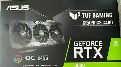 asus tuf gaming geforce 3090 rtx (New In box, quick shipping)