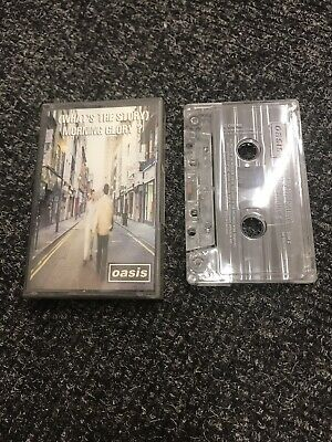 Oasis - What's The Story Morning Glory - Cassette CCRE 189