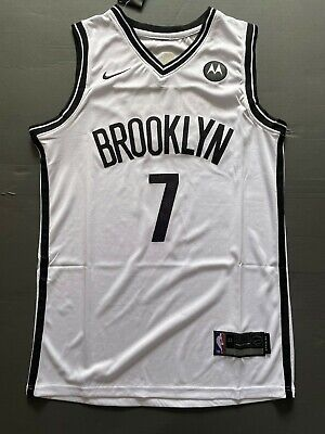 Classic Kevin Durant #7 Brooklyn Nets Basketball Jersey Stitched White