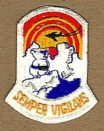 USAF 5010th SECURITY POLICE SQUADRON PATCH