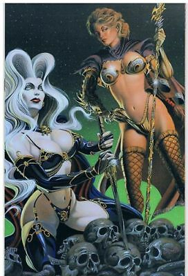 CHAOS CROSSOVER #5 VIRGIN-VARIANT Lady Death/Witchblade