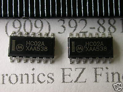 MOTOROLA MC74HC02AD  TTL IC SOP-14 NEW