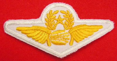 Obsolete - Continental Senior Pilot Embroidered Wings