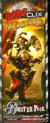 Freakshow Sealed Booster Horrorclix Miniature WizKids