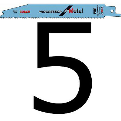Bosch S123XF SDS Sabre Saw Blades for Metal S 123 XF  5