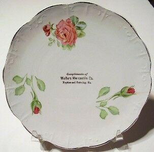 Old Plate WOLFERS MERCANTILE CO. Hopkins & Pickering MO