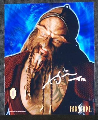 Anthony Simcoe (Ka D'Argo) FARSCAPE AUTOGRAPH