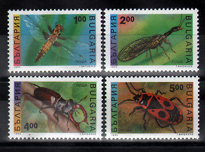 6424 BULGARIA 1993 Insects **MNH