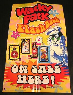 "2008 Topps Wacky Packages Flashback Series 1 ""ON SALE HERE"" POSTER 10.5 x 17"