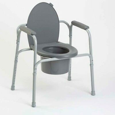 Portable Bedside Commode Toilet Safety Frame Support