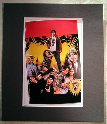 Mallrats Movie Art Poster Print  Matted