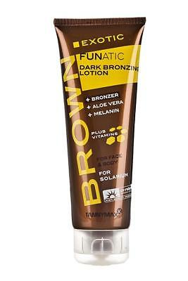 Tannymaxx Exotic Funatic Dark Bronzing Lotion Sunbed Tan Cream Tannymax 125ml