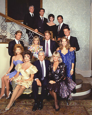 Dynasty Color 11X14 Photo Whole Cast On Staircase
