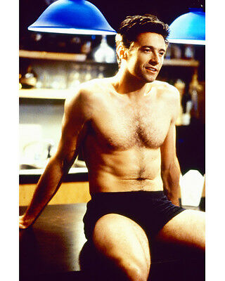 Hugh Jackman In Hunky 8X10 Color Photo