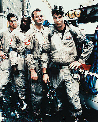 Ghostbusters Murray Aykroyd Ramis Pose Color 8X10 Photo