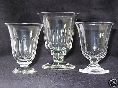 40x antique 19th C. Punch Jelly Custard Glass & nice as Port Glass, circa 1880