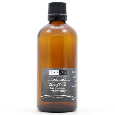 50ml Ginger Pure Essential Oil - 100% Pure, Certified & Natural - Aromatherapy