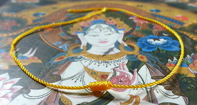 Buddha Sacred CORD blessed by Buddhist Monk.Luck