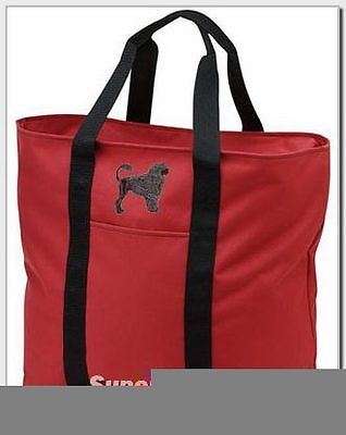 PORTUGUESE WATER DOG embroidered tote bag ANY COLOR