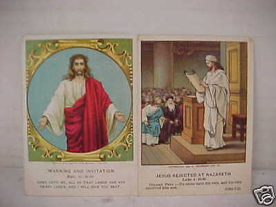 Lot Of 2 1898 & 1904 Heidelberg Picture Card