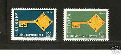 TURKEY # 1775-1776 MNH Europa