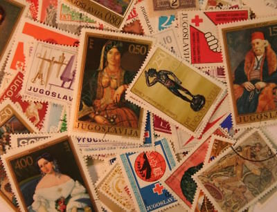 YUGOSLAVIA  Stamps Collection - 200 Different Stamps
