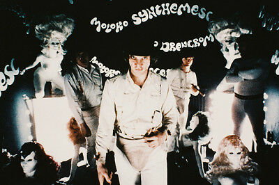 A Clockwork Orange Col 24X36 Poster Mcdowell & Droogs