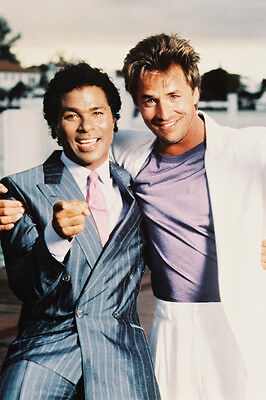 Miami Vice 24X36 Poster Color Portrait Don Johnson, P.mthomas