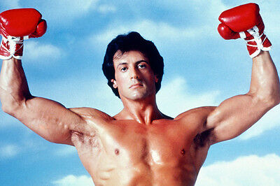 Sylvester Stallone Rocky Iii Muscle Pose 24X36 Poster