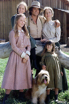 Little House On The Prairie Color Cast 24X36 Poster