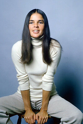 Ali Macgraw Love Story Color 24X36 Poster Rare Stunning